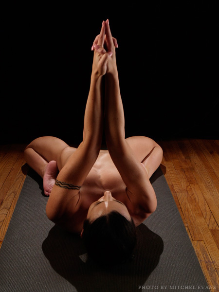 Yoga positions nude
