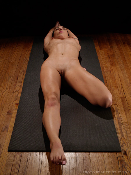 Nude position yoga